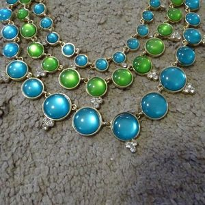 Pretty Blue and Green Necklace